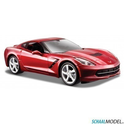 Chevrolet Corvette Stingray Coupe 2014 1:24 Rood