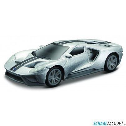 Ford Gt Exotics 1:64 Zilver