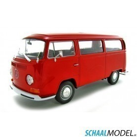 Vw T2a     1972 1:24 Rood