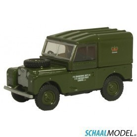 Land Rover 88  Post 1:76 Groen