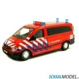 Mercedes Benz Vito Brandweer Nl 1:50 Rood