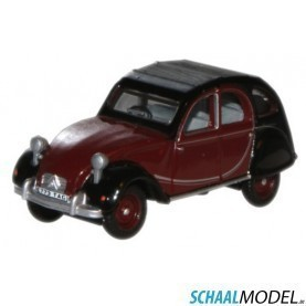 Citroen  2 Cv Charleston 1:76 Rood