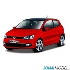 Vw Polo Gti M5 1:24 Rood