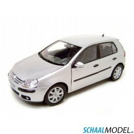 VW Golf V 1:18 Zilver