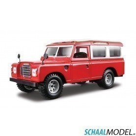 Land Rover 110 1:24 Rood