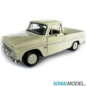 Chevrolet Fleetside 1966 1:24 Creme