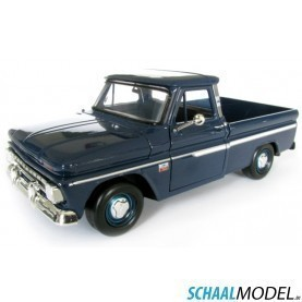 Chevrolet Fleetside 1966 1:24 Blauw