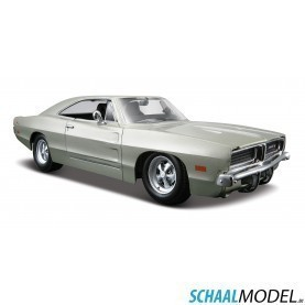 Dodge Charger R/t 1969 1:24 Zilver