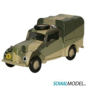 Austin Tilly 11th Africandiv. Sudan 1941 1:76 Camouflage