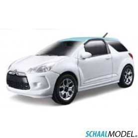 Citroen Ds3 1:24 Wit