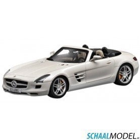 Mercedes Benz Sls Amg Roadster 1:43 Wit