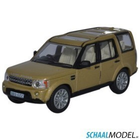 Land Rover Discovery 4 1:76 Creme