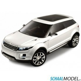 Land Rover Lrx 2010 Wit 1:43 Wit