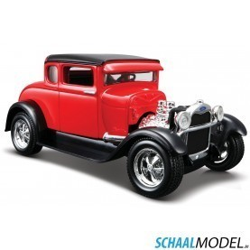 Ford Model  A 1929 1:24 Rood