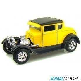 Ford Model  A 1929 1:24 Geel