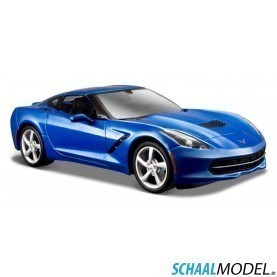 Chevrolet Corvette Stingray Coupe 2014 1:24 Blauw