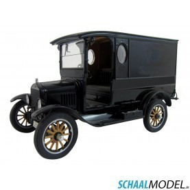 Ford Model T Paddy Wagon 1925 1:24 Zwart