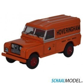Land Rover Serie 2 Lwb Hard Top 1:76 Oranje