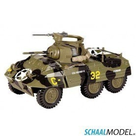 Ford M8 Arm Car 2nd Arm Div Avranches 1944 1:43 Camouflage