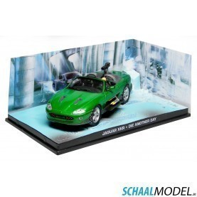 Jaguar Xkr James Bond 'die Another Day' 2002 1:43 Groen