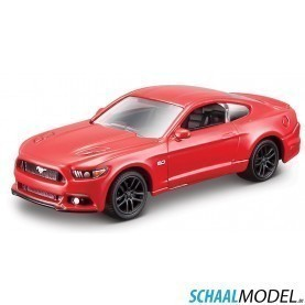 Ford Mustang 2015 1:64 Rood