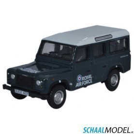 Land Rover Defender Station Wagon Raf 1:76 Blauw