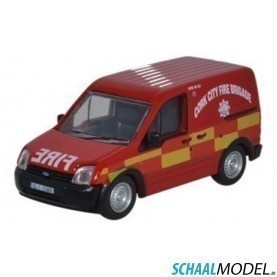 Ford Transit Connect Avon Fire & Rescue 1:76 Rood