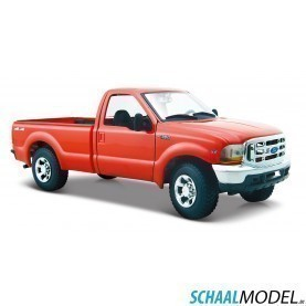 Ford F-350 Pick Up 1999 1:24 Rood