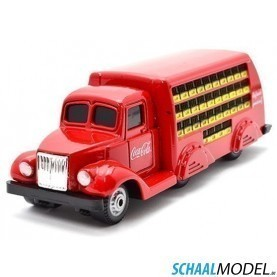 Gmc Tdh Coca Cole Bottle Truck 1937 1:87 Rood