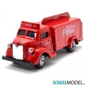 Gmc Coca Cola Bottle Truck 1947 1:87 Rood