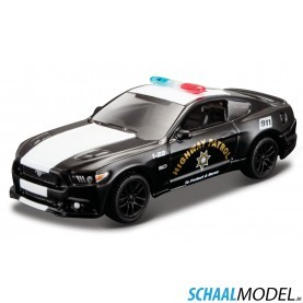 Ford Mustang Gt Police 2015 1:64 Zwart