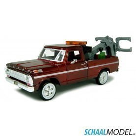 Ford F-100 1969 Tow Truck 1:24 Rood