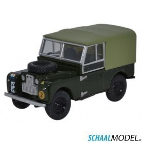 Land Rover Serie 1 88 Canvas Reme 1:76 Groen