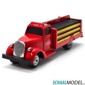 Coca Cola Bottle Truck 1938 1:87 Rood