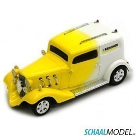 Ford American Hot Rod 1932 1:43 Geel