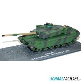 Challenger Uk Mainland Division United Kingdom - 1984 1:72 Camouflage