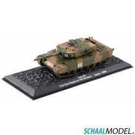 Type 90 71st Tank Regiment 7th Division (japan) - 1996 1:72 Camouflage