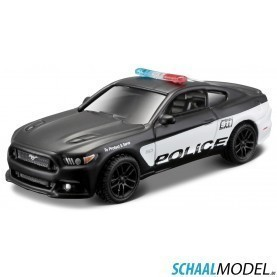Ford Mustang Gt `police´ 2015 Authority 1:64 Zwart