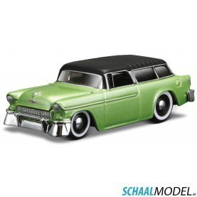 Chevrolet Nomad 1955 Muscle 1:64 Groen