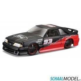Ford Svt Cobra 1993 Muscle 1:64 Zwart