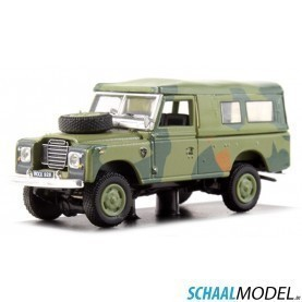 Land Rover Serie Iii 109 Camouflage 1:72 Camouflage