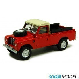 Land Rover Serie Iii 109 Pick Up 1:72 Rood