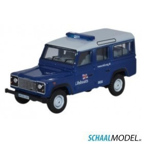 Land Rover Defender 110 1:76 Blauw