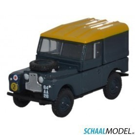 Land Rover Serie 1 88 Hard Back Raf 1:76 Blauw