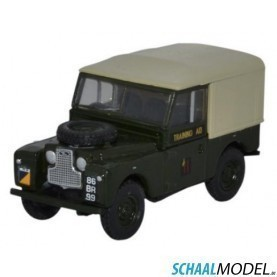 Land Rover Serie 1 88 Canvas Rct 1:76 Groen