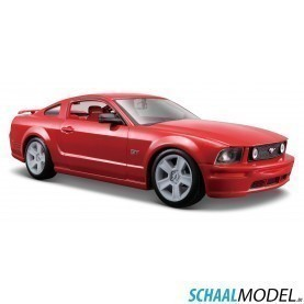 Ford Mustang Gt 2006 1:24 Rood
