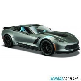 Chevrolet Corvette Grand Sport 2017 1:24 Grijs